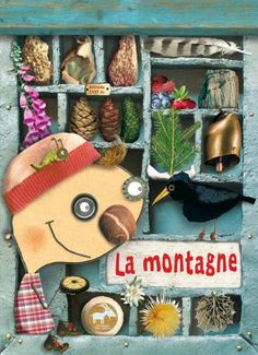 Christian Voltz - Illustration - Ma boîte à trésors - La montagne - Plume de carotte / La Petite Salamandre - 2010