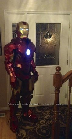 Awesome Homemade Iron Man Costume... Coolest Homemade Costume Contest