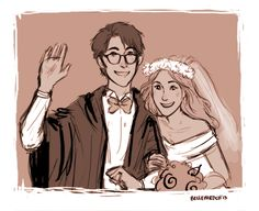 James and Lily's Wedding by IzziBelle on DeviantArt