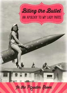 """Biting the Bullet"" -- one woman's hilarious apology to her lady parts after injuring herself with her new vibrator."