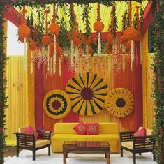 Mesmerize your guests with the charm of these engagement stage decorations ideas. Discover about the latest Engagement Stage Decoration Ideas with this post. Desi Wedding Decor, Wedding Stage Design, Wedding Hall Decorations, Backdrop Decorations, Backdrops, Wedding Mandap, Wedding Ideas, Wedding Draping, Wedding Venues