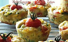 Muffin alle verdure | ricetta veloce antipasto vegetariano