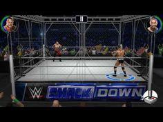 WWE 2K: Brock Lesnar vs. Randy Orton (Smackdown)