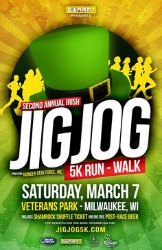 Check out the Jig Jog 5k! A 5k run through veterans park along the lakefront in Milwaukee, Wisconsin.