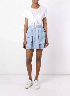 Saia Jeans com Bolso Frontal - Compre Online | DMS Boutique