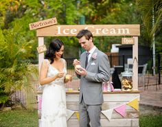 Top Free Pictures How to Make a DIY Ice Cream Bar of Country Outdoor Wedding Ideas From travels.zade4u.idwp.biz By http://heritagehouse.biz