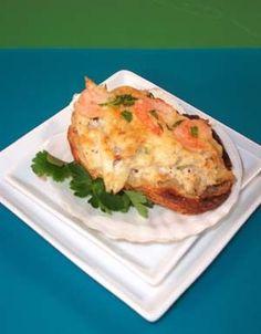 Barbara Adams Beyond Wonderful » Crab Crostini with Baby Shrimp Recipe