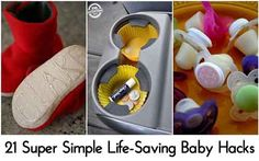 21 Super Simple Life-Saving Baby Hacks