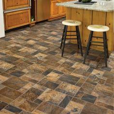 Learn about vinyl tile flooring, vinyl sheet flooring, vinyl kitchen flooring and vinyl wood flooring. Vinyl Flooring Kitchen, Hall Flooring, Flooring Ideas, Linolium Flooring, Kitchen Vinyl Sayings, Kitchen Cabinet Styles, Kitchen Sinks, Luxury Vinyl Tile, Wood Vinyl