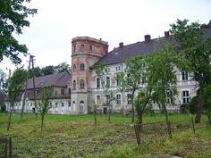 Pałac rodziny von Zitzewitz w Cecenowie został wybudowany w latach 1812 - 14. Majątek pozostał w rękach rodziny do dnia wkroczenia Rosjan do wsi 9 marca 1945 roku. Zajęcie Cecenowa było poprzedzone kilkugodzinną, ciężką walką, w której wojska sowieckie rozbiły niemiecki batalion piechoty i 80-osobowy oddział pospolitego ruszenia (Volkssturm). Ostatni właściciel - Wilhelm Siegfried von Zitzewitz pozostał w zajętym przez przybyłych polskich osadników majątku do 1947 roku. Obecnie - jak widać…