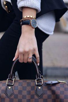Details, Louis Vuitton Speedy, Uhr, Watch, Bracelets