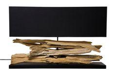 KARE Design Elegante Tischleuchte mit natürlichem Flair. Aus indonesischem, vom Meer geformten Treibholz. Für eine organische, natürliche Note. Jede Leuchte ein Unikat. #KARE #KAREDesign