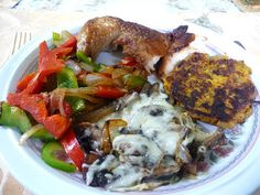 SPLENDID LOW-CARBING BY JENNIFER ELOFF: MUSHROOM MOZZARELLA BAKE