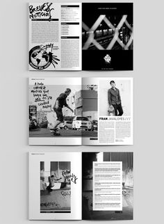 Dogway Skateboard Magazine — Redesign on Behance - . - Dogway Skateboard Magazine — Redesign on Behance – - Page Layout Design, Magazine Layout Design, Web Design, Magazine Layouts, Editorial Design Magazine, Magazine Design Inspiration, Magazine Articles, Yearbook Pages, Yearbook Layouts