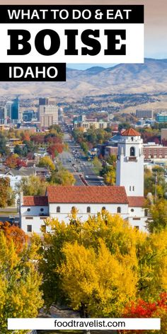 Come to Boise and be surprised by all you'll have to do, see and eat. This friendly town will wow you with local foods, local wineries, local breweries and much more. This beautiful town will have have hiking, biking, and enjoying water sports. Don't forget skiing in the winter.  #VisitBoise