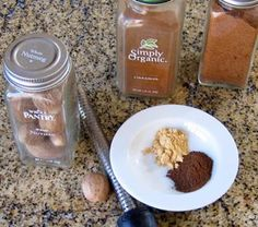 Make Your Own Pumpkin Spice Mix