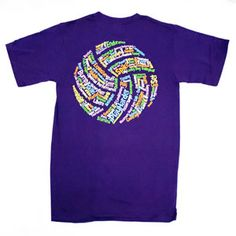 Volleyball T Shirt Design Ideas designashirtcom has seen a trend toward volleyball t shirt design requests with a small logo of contrasting color on the right or left hip like this Tiedyelongsleevevolleyballtshirt Volleyball T Shirts