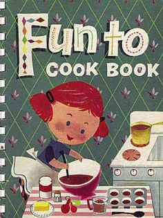 cookbooks of the 60s -  I made every recipe in this book many times. The fudge was as hard as a rock, but I didn't care. The book finally fell apart. Loved that book.