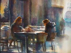 Joel Tenzin: conversation en terasse