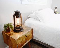 Electric Lantern Table Lamp with variable dimming controller Rust patina hand finish by Muskoka Lifestyle Products (Edison Bulb Included) Table Lanterns, Lantern Lamp, Table Lamp Wood, Wooden Lamp, Desk Lamp, Moroccan Table Lamp, Study Lamps, Driftwood Lamp, Driftwood Sculpture
