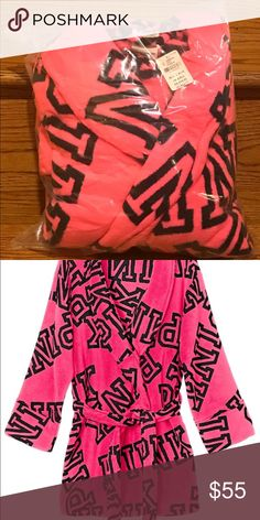 New Vs Pink Robe New In OnLine Package PINK Victoria's Secret Intimates & Sleepwear Robes