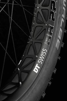 "designvanilla: ""DT Swiss Fatbike Wheel """