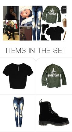 """—— FEEDBACK KAYNE WEST"" by recklessx ❤ liked on Polyvore featuring art"
