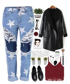 """""""Yoins VII"""" by amethyst0818 ❤ liked on Polyvore featuring Nearly Natural, beautyblender, Burberry, MAC Cosmetics, Skullcandy and yoins"""