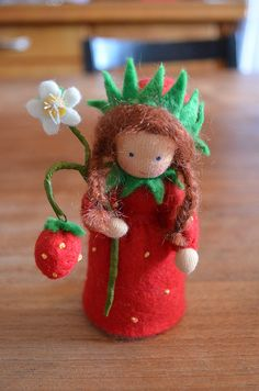 Little Strawberry by liebes-lottchen, via Flickr