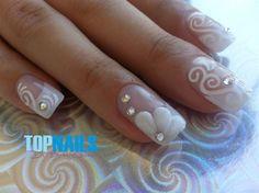 Uñas Acrílicas Francesas para novias (Acrylic Nails French for brides) Agregarme a tus amigas de Facebook para más información. https://www.facebook.com/topnails.acrilicas www.topnails.cl Cel:94243426