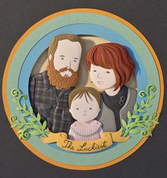 11 custom family portraits with an artistic twist