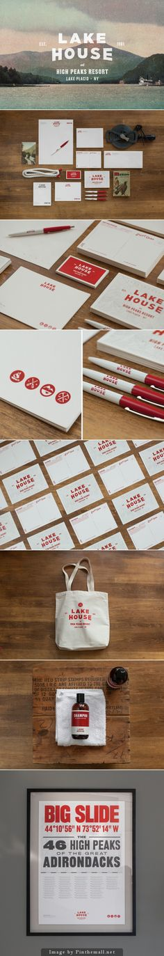 Lake House Branding by Tag Collective