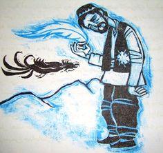 Illustrated By: Sahar Khorasani http://yadban.ir/index.php/intro/select/437-simorgh