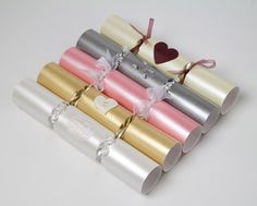 Wedding crackers as favors!
