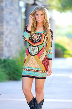 Leave The Lights On Sweater Dress
