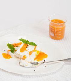 Pavé glacé (ou mattonella) ricotta-abricots au miel et poivre pamplemousse pour le Yummy Day givré - Et si c'était bon...