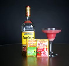 Boozy Emergen-C Cocktails are the Best Cold Medicine Ever Vitamin C Drinks, Alcoholic Drinks, Cocktails, Cold Medicine, Lemon Lime, Mixed Drinks, Tequila, Margarita, Party Planning