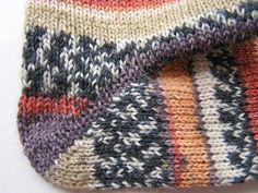 Chytré pletení paty a špičky   PLETENÍ – NÁVODY