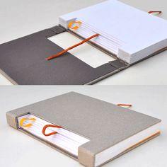 Gedankensprung - smart notebook concept by Austrian creative Konstantin Schmölzer