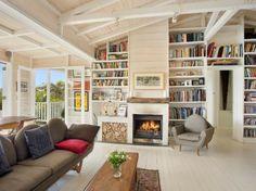 fabelhaft Bücherregale couch kamin weiß decke