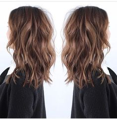 The LOB aka long bob, beautiful & contemporary. #Hair #Hairstyle #LOB
