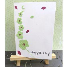 """6 mentions J'aime, 3 commentaires - Maggy Jeunesse (@jeunessemaggy) sur Instagram: """"Carte """"Happy birthday""""... Envie d'utiliser le dies orchidée de @4enscrap ..."""""""