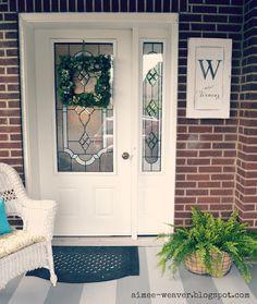 My *PINK* Life: My Summer Porch