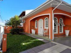 fachadas de casas : cores naturais ou atrevidas? - Pesquisa Google