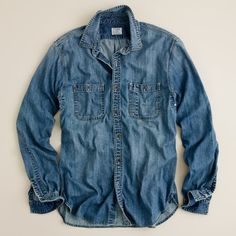 J Crew denim shirt