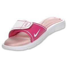 Nike Comfort Slide Women's Sandals Hubby bought me these,so comfy :)