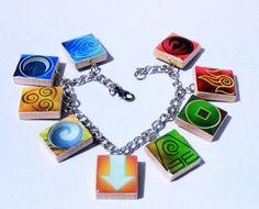 Four Nations Inspired Scrabble Tile Charm by HoneysuckleRoseC
