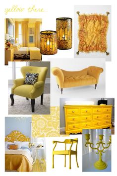 Color Choices for Interior Design - yellow