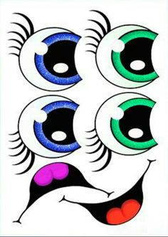 Little children of Jesus: eyes for dolls Flower Pot Art, Clay Flower Pots, Flower Pot Crafts, Painted Flower Pots, Clay Pots, Clay Pot Projects, Clay Pot Crafts, Crafts To Make, Flower Pot People