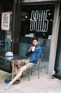 koreanmodel: Nam Joo Hyuk by Kim Jin Yong for Thursday Island Korean Male Models, Asian Male Model, Korean Men, Korean Actors, Asian Actors, Sung Joon, Lee Sung Kyung, Asian Men Fashion, Man Fashion